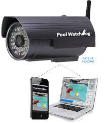 מצלמת אבטחה לבריכה